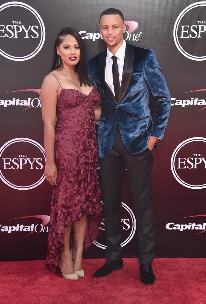 Ayesha and Stephen Curry at the ESPYs 2016 | Pictures | POPSUGAR Celebrity
