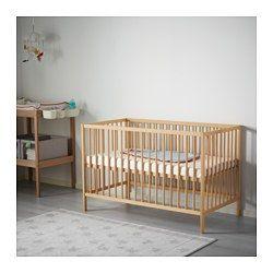 IKEA - SNIGLAR, Tremmeseng, , Sengebunden kan monteres i 2 forskellige højder.Dit barn sover sikkert og komfortabelt, for sengebundens holdbare materialer er blevet testet for at sikre, at de gi'r kroppen den nødvendige støtte.Tremmesengens bund har ventilationskanaler, der sikrer god luftcirkulation og et behageligt sovemiljø.
