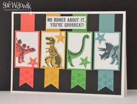 """Nigh Nigh Birdie: DESIGNED BY SUE - CARDS FEATURING IMAGES FROM """"NO BONES ABOUT IT"""""""