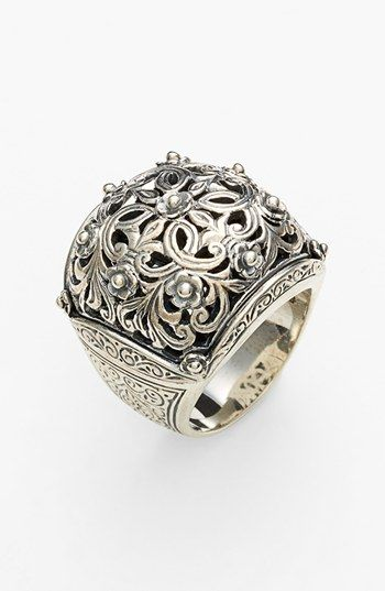 Konstantino jewelry... I love his designs. His studio/store in Athens is fantastic!