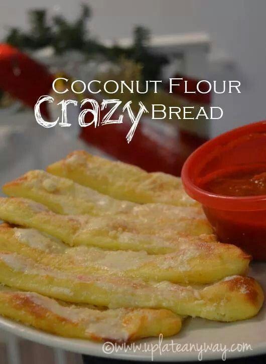 Coconut Flour Crazy Bread