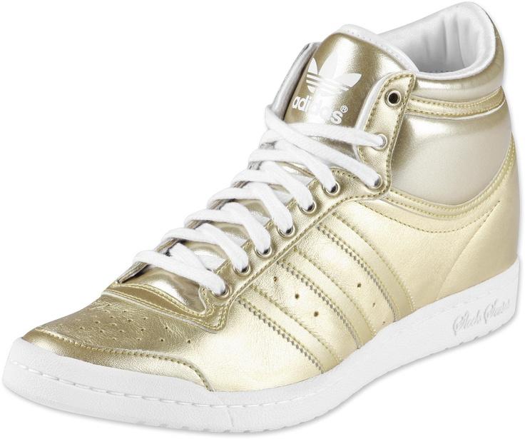 Adidas Sneaker Weiß Gold