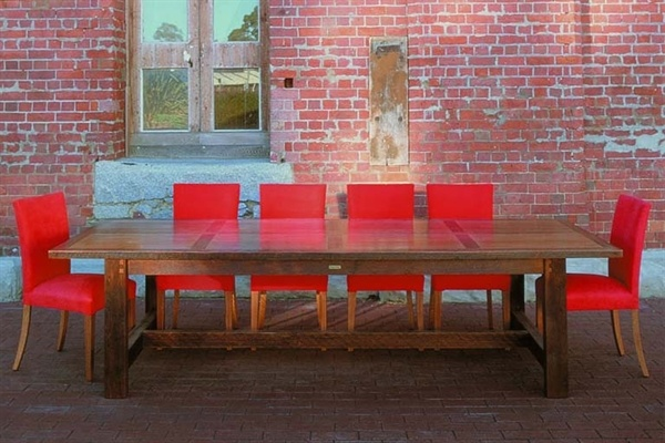 Jimmy Possum recalimed timber dining table