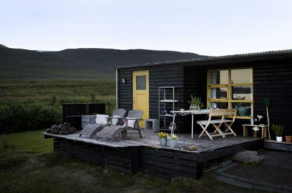 Icelandic cabin, the interior is great...