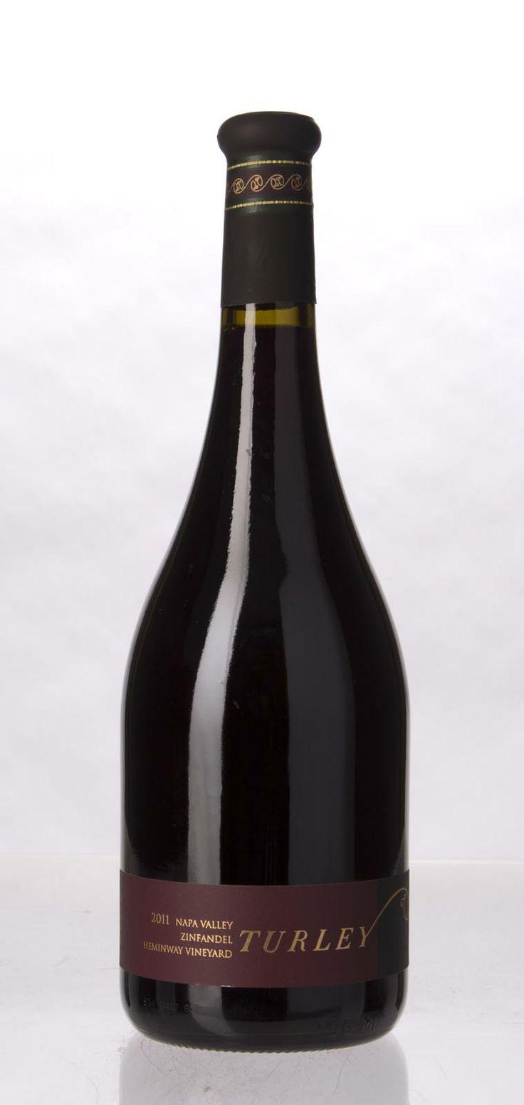 Turley Wine Cellars Zinfandel Heminway Vineyard 2011, 750mL (WS 94, $35) Blackberry, dried cherry, mineral, underbrush