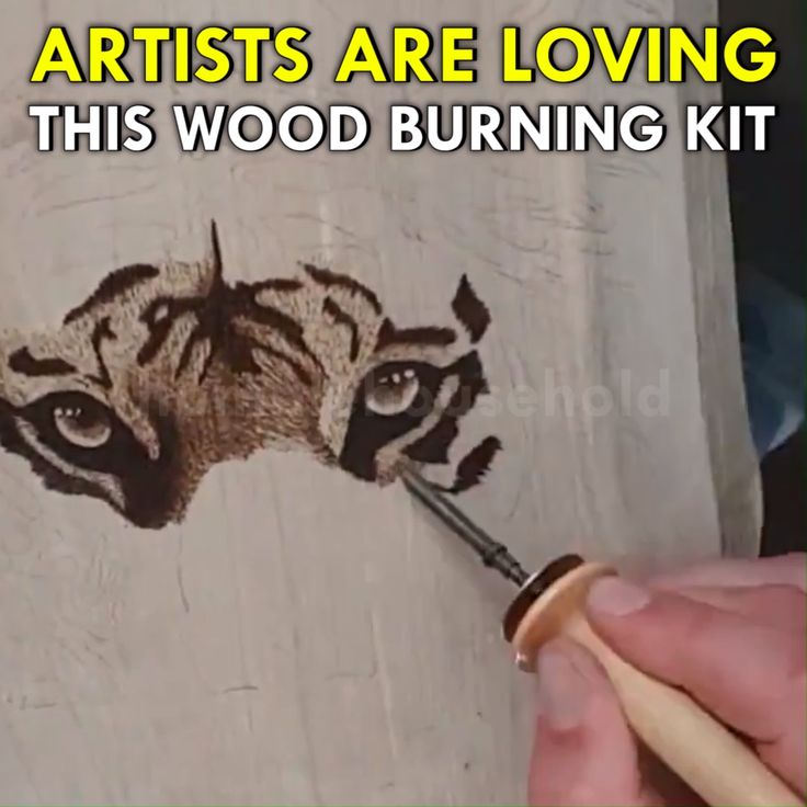 Learn WoodBurning Easier Than Ever!