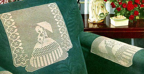 40 Best Crochet Chair Backs Images On Pinterest Crochet Doilies Doilies Crochet And Filet Crochet