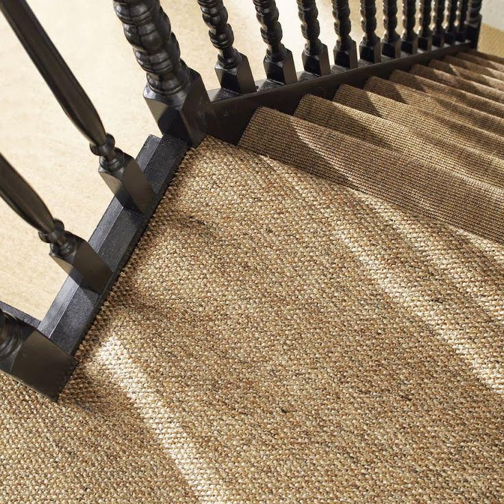 habiller son escalier avec une moquette escaliers en. Black Bedroom Furniture Sets. Home Design Ideas