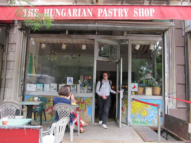 Hungarian Pastry Shop by The Hungarian Girl, via Flickr Gotta go there!