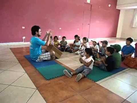 Clase de repercusión para niños de 3 años