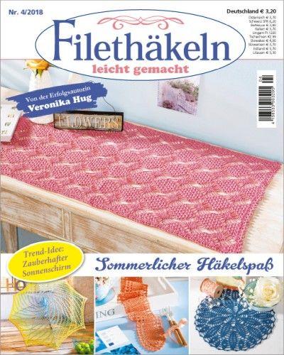 Filethäkeln Leicht Gemacht Nr42018 Häkeln Sie Deckchen Läufer Und