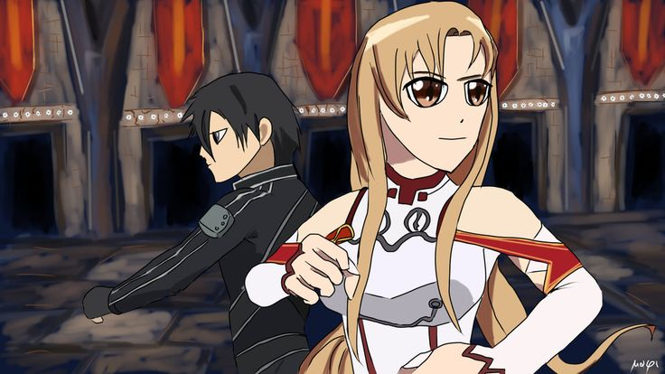 FanArt Asuna e Kirito by Mixmax3d.deviantart.com on @DeviantArt #anime #asuna #digitaldrawing #digitalpaint #digitalpainting #kirito #digitaldraw #swordartonline #asunakirito