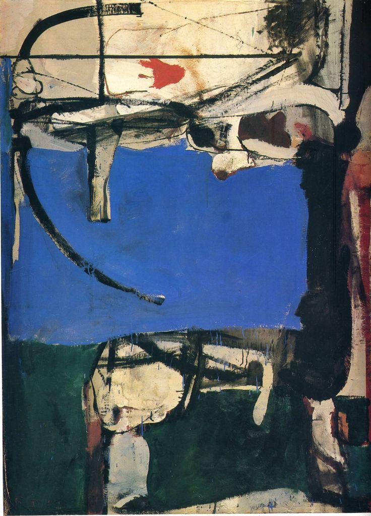 Richard Diebenkorn Artist | Urbana No. 2 (The Archer) - Richard Diebenkorn - WikiPaintings.org
