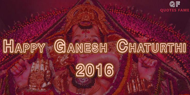 Happy Ganesh Chaturthi images 2016