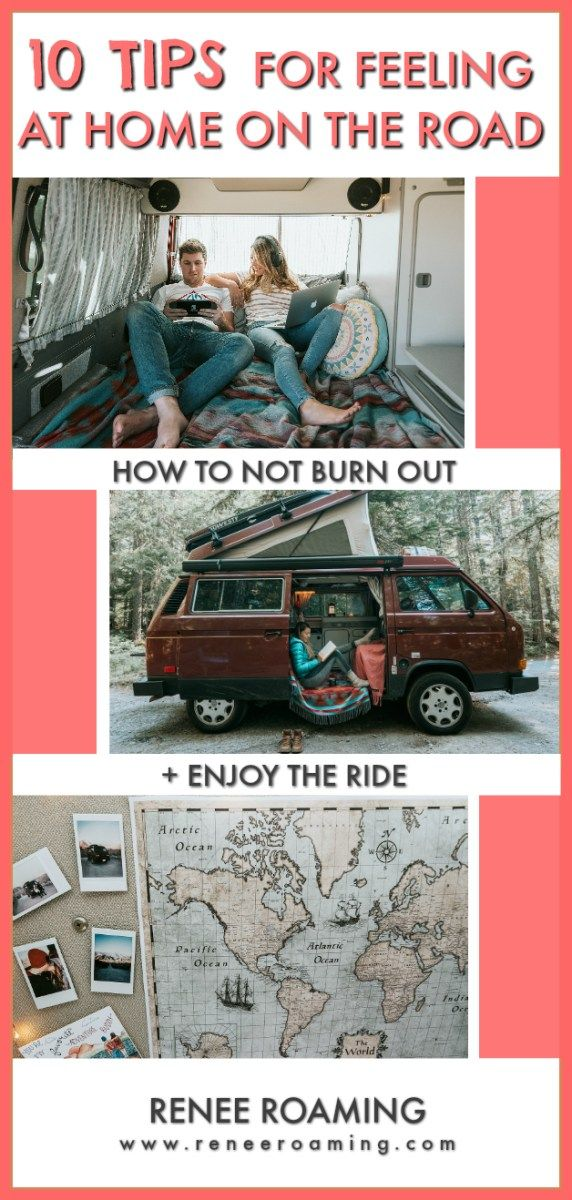 10 Tips To Feeling More at Home On The Road