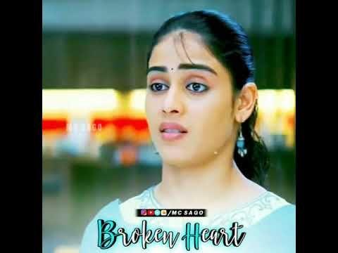 Broken heart | Santhosh subramaniyam Heart touching ...