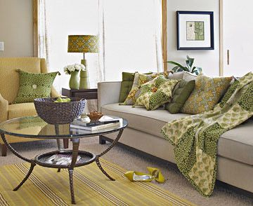best images about NEW Living Room Green White Yellow Gray Black on Pinterest
