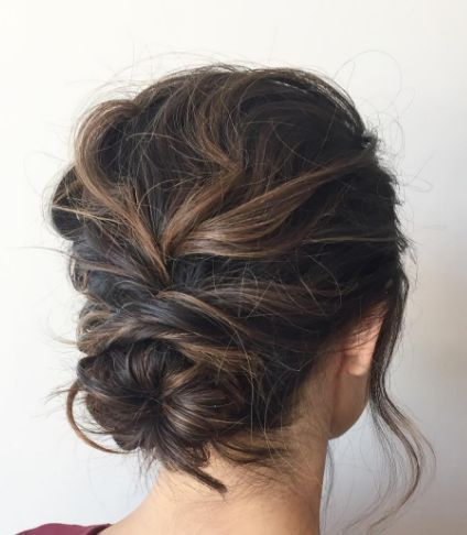 Featured Hairstyle: ashpettyhair; Wedding hairstyle idea.