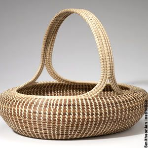 Low Country sweet grass basket.  I have 3 from Boone Hall Plantation