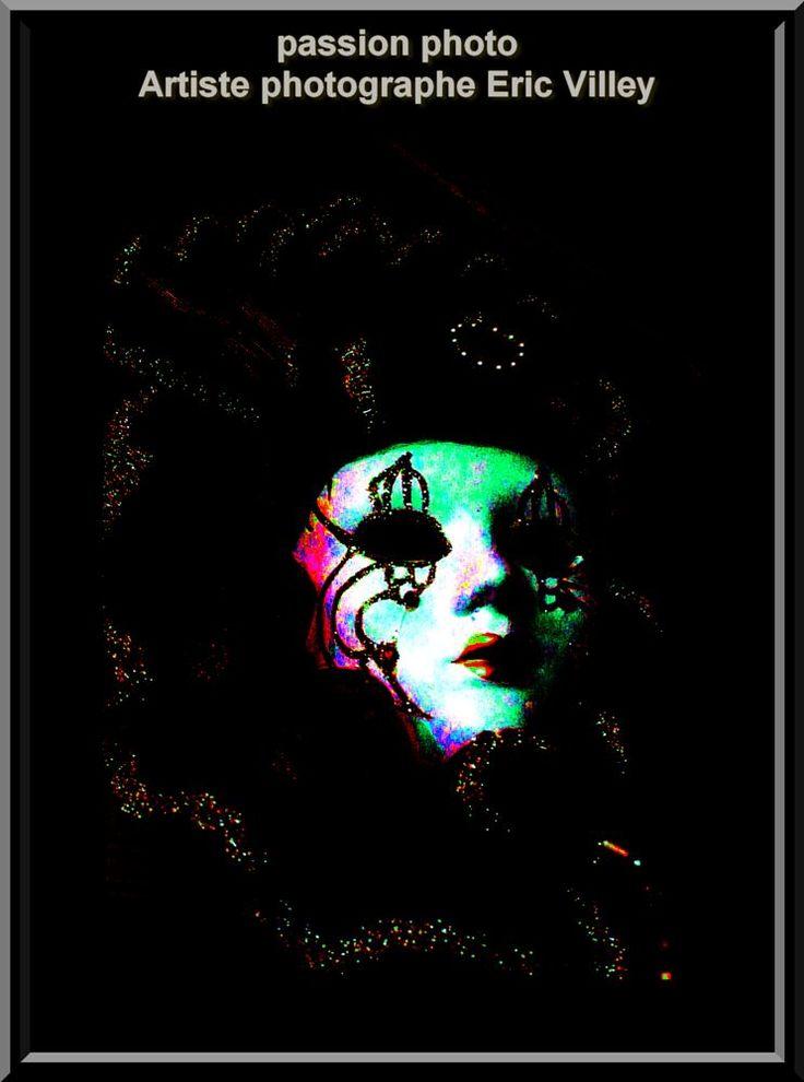 shoot masques by Artiste photographe -ERIC VILLEY