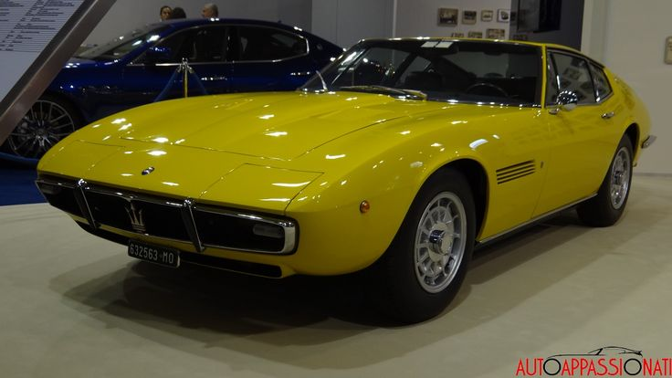 LIVE - Maserati al Salone Auto e Moto d'Epoca di Padova ...