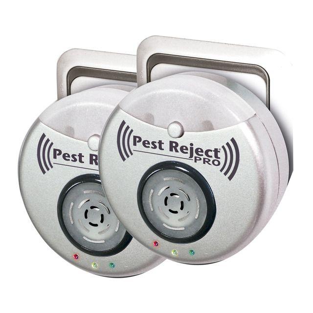El nuevo Pest Reject Pro ofrece un nuevo diseño más atractivo y moderno, siendo una versión mejorada del antiguo Pest Reject. es más potente y eficaz ya que protege una superficie de hasta 300 metros. Pest Reject Pro combina la avanzada tecnología del electromagnetismo y ultrasonido para repeler a las ratas, ratones, escarabajos, cucarachas... y como novedad, tiene un amplificador de impulsos para llegar más lejos y ahuyentar a los visitantes inoportunos. Previene y evita la aparición de…