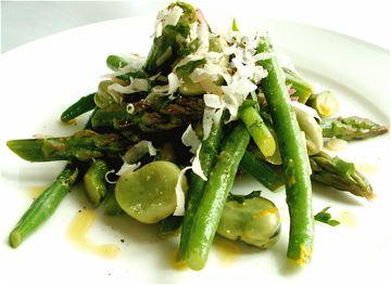 ... bean and wax bean spice rub and green bean salad asparagus green bean
