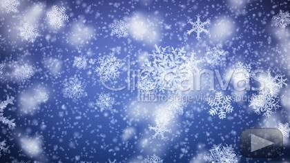 Snowflakes falling. HD 1080. Looped animation. HD Stock Footage Clip. Close-up. 2012-12-04.