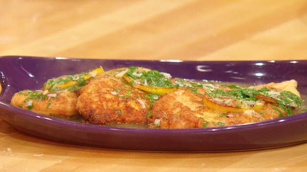 Chicken Francese - use only chicken stock, no white wine