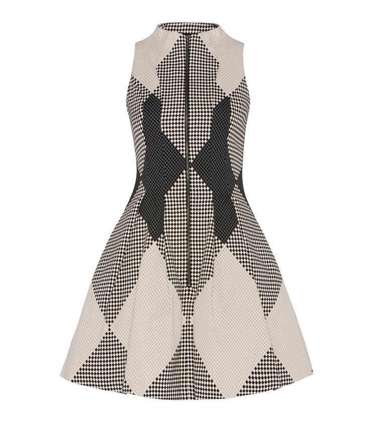 Cue - Harlequin Dress