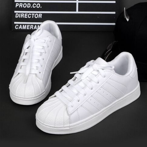 Hot New Fashionable Spring and Autumn Men Women Originals adids superstar  GOLD and black Inductors