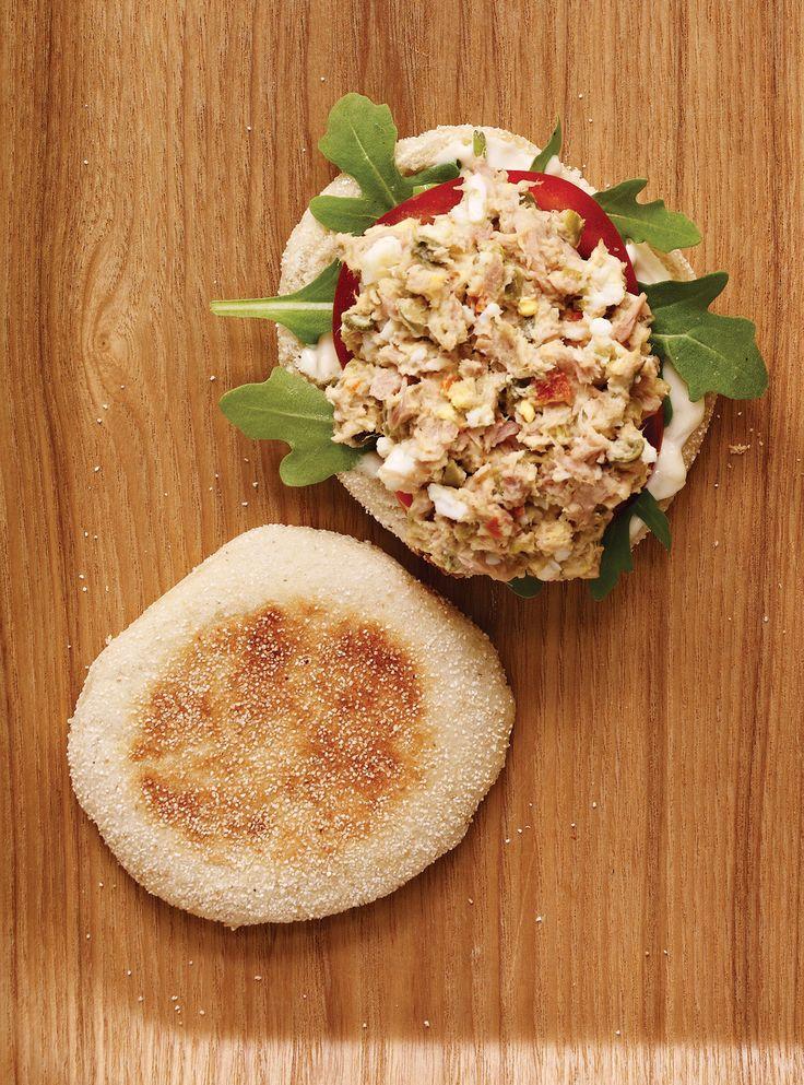 Recette de Ricardo de sandwich au thon à la niçoise