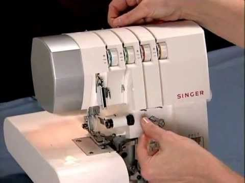 Singer's How to Thread the Singer 4 Thread Sergers Video - YouTube