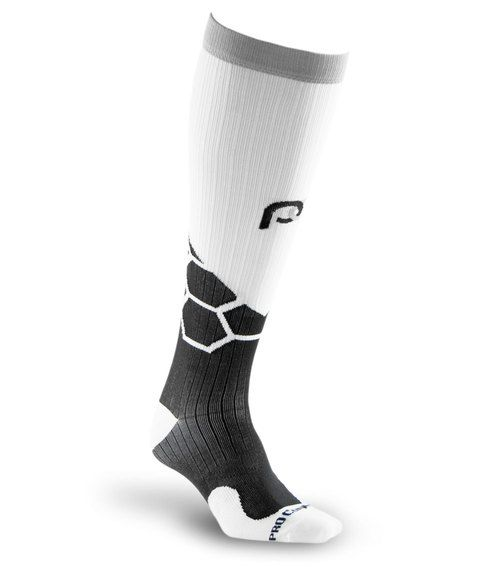 Get maximum recovery with Marathon WRS Boom full-length, graduated compression sock by PRO Compression.