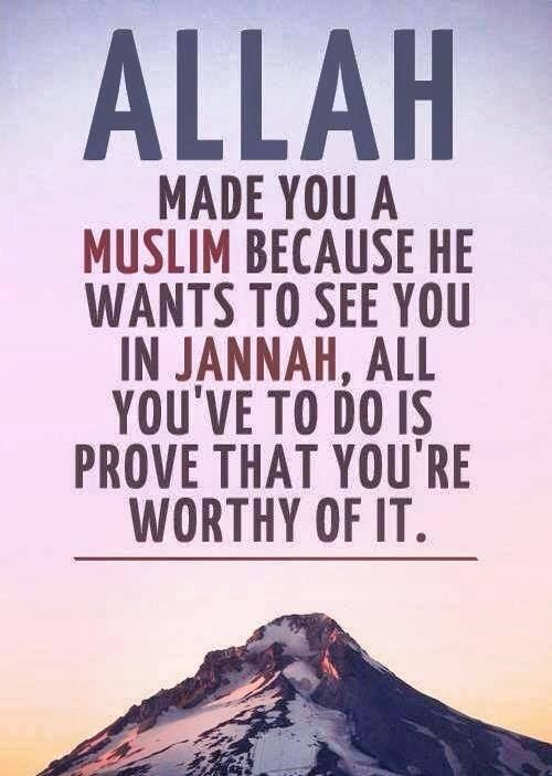 from the Hadith of Prophet Muhammad (saw): Jannah is surrounded by hardships, trials, and extreme tests of patience, while Hellfire is surrounded by desires and temptations, May Allah make us firm upon the siratal mustaqeem, Amin.