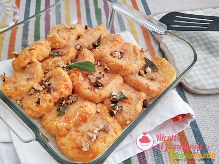 Gnocchi alla romana con la zucca #ricette #food #recipes