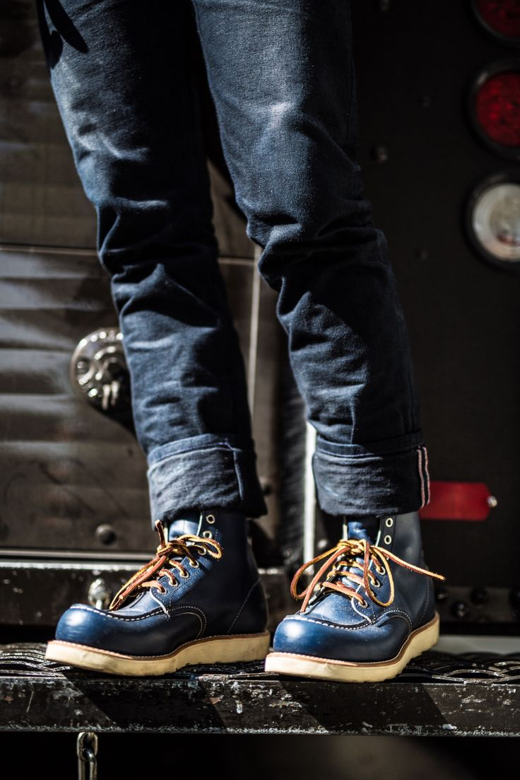 Red Wing Shoes Owners Club | lightonthecoast: first day in the 8882 indigo...