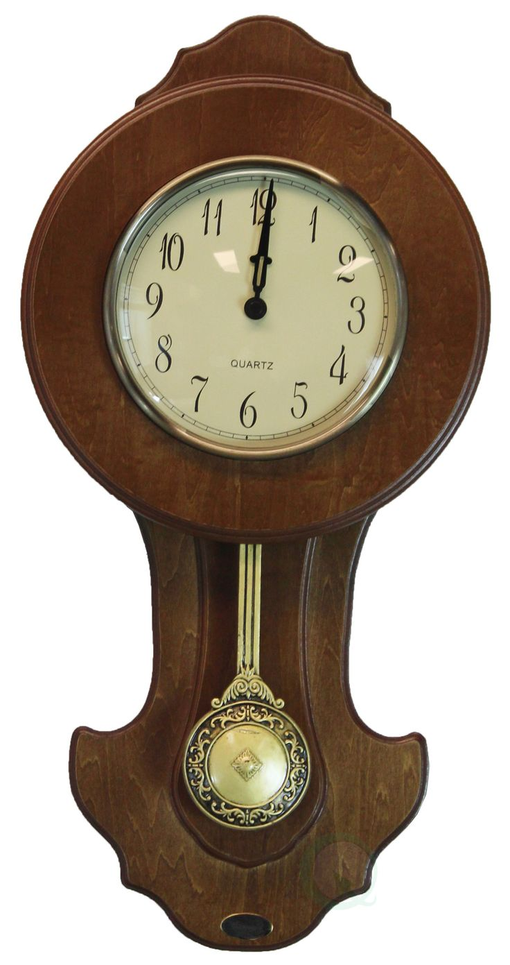 Best 25 transitional wall clocks ideas on pinterest transitional pendulum wall clock solid wood walnut finish amipublicfo Gallery