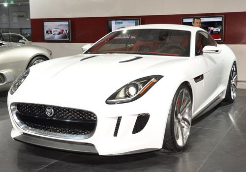 Jaguar Coupe to make a debut at the Los Angeles Auto Show. #jaguarCars