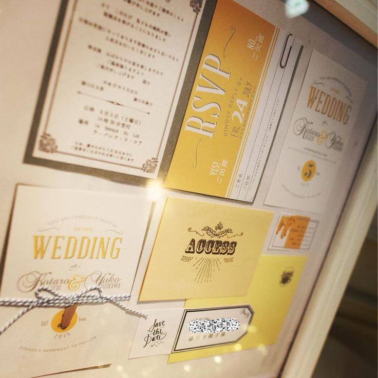 http://www.muse5cotton.com   「待合室には、額にいれた招待状を。。♡ . . 額はおじーちゃんの遺作♡ 今も我が家に飾ってあります。」