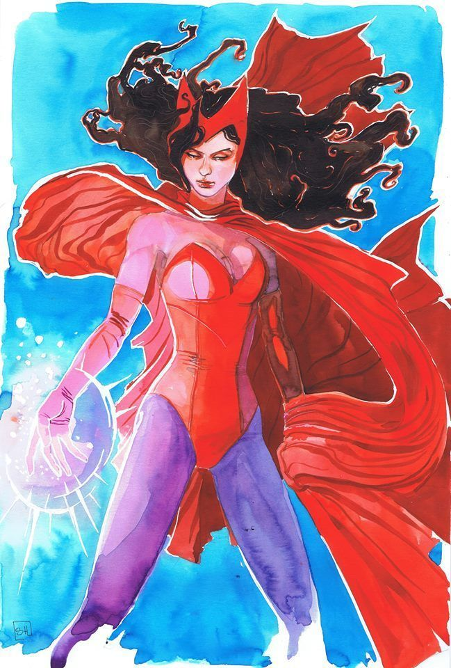 Scarlet Witch by Stephanie Hans