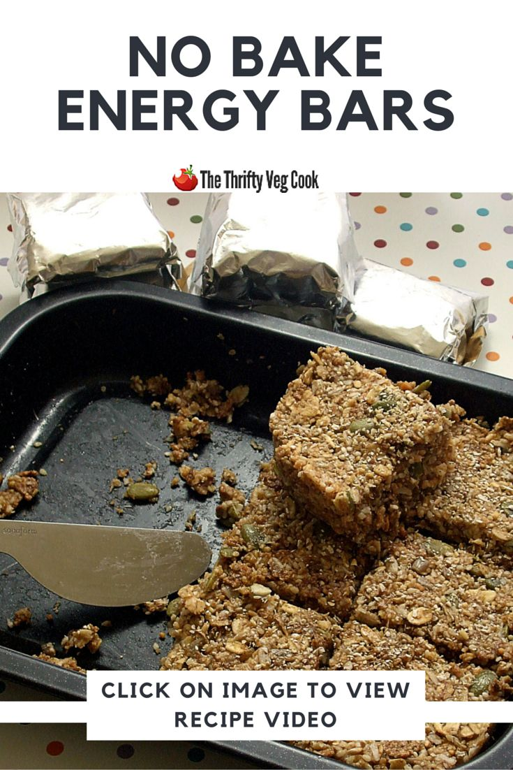 No Bake #EnergyBars for Clean Eaters - Whether you're looking power up pre-workout, replenish energy post exercising, or boost stamina during late afternoon slumps, try these #energybars. while they won't help win you triathlons, these easy #diyenergybars are loaded with vitamins, minerals, and whole grains fibre, plus modest in fat, and completely vegan. Studded with nuts and seeds, this recipe doesn't promise to do anything except taste good. #veganenergybars #cleaneatingrecipes