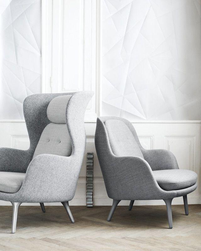 Fritz Hansen Jaime Hayon, Ro and Fri #leatherdiningchairs #velvetchair #upholstereddiningchairs upholstered chairs, velvet armchair, modern chairs| See more at http://modernchairs.eu