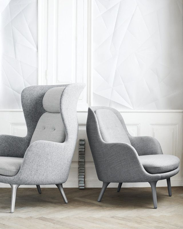 Fritz Hansen Jaime Hayon, Ro and Fri #leatherdiningchairs #velvetchair #upholstereddiningchairs upholstered chairs, velvet armchair, modern chairs| See more at http://modernchairs.eu
