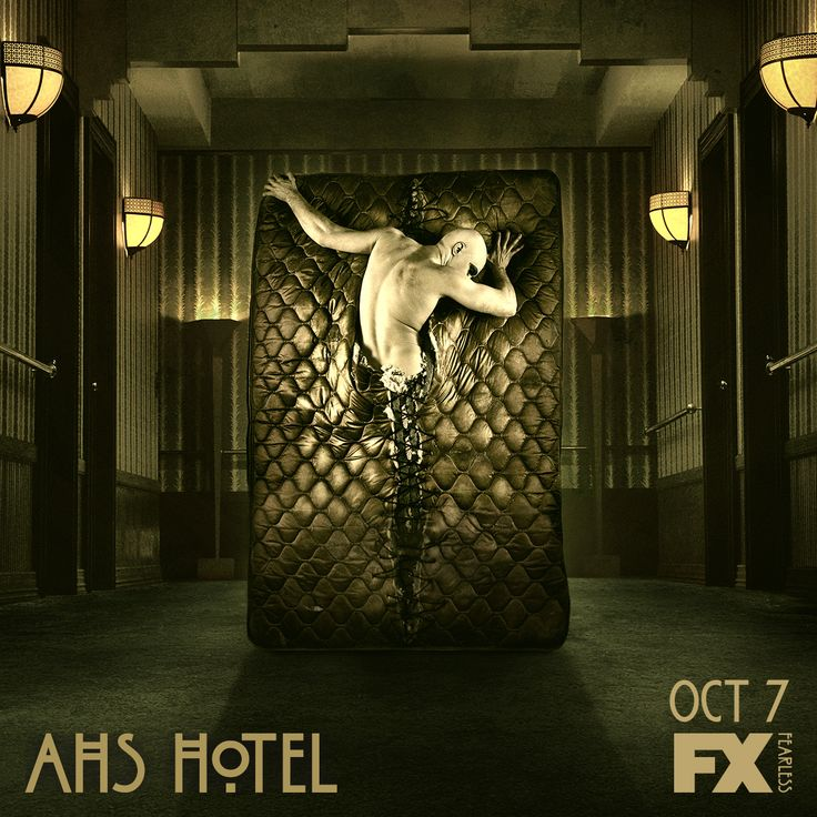 Sweet dreams. American Horror Story: Hotel premieres Wednesday Oct 7 10 PM 2015.