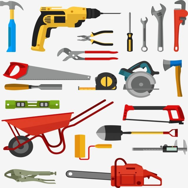 Tool Kits Vector And Png Tools Graphic Design Tools Tool Kit