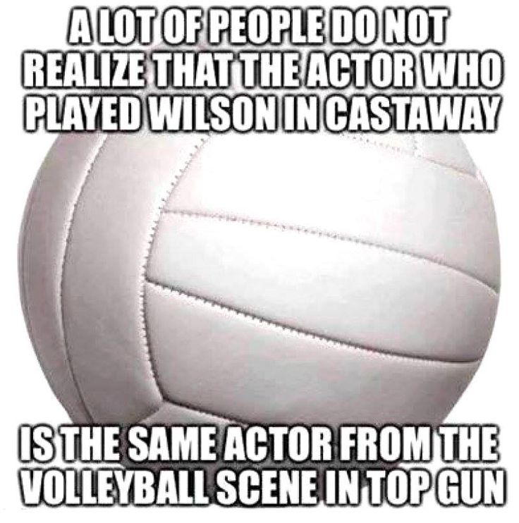 A lot of people do not realize that the actor who played Wilson in Castaway is the same actor from the volleyball scene in Top Gun.