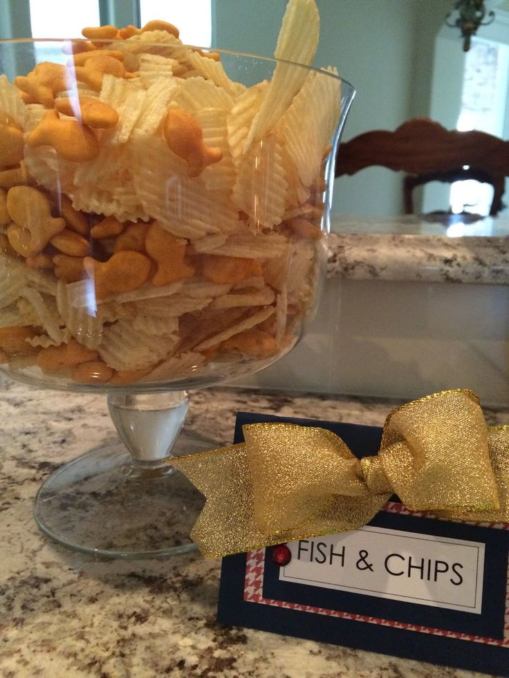 "British Birthday Bash! ""Fish and Chips"""
