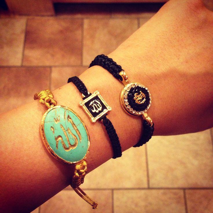 "Kaz Kouture: Circle Allah ""God"" Bracelet #kazkouture #fashion #bracelet #goldplated #jewelry #accessories #armcandy #princess #fashionista #turkish #arabiccalligraphy #muslimfashion #abaya #hijabi #hijab #arabfashion #scarf #muslim"