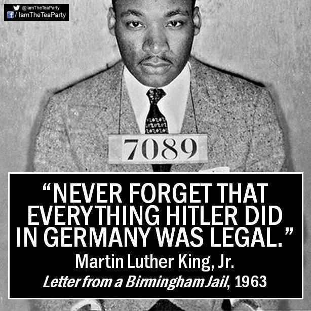"""quote: """"Never forget that..."""" -Martin Luther King Jr."""
